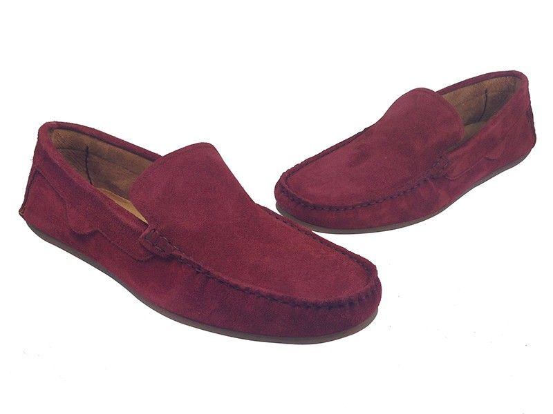 ryłko buty damskie mokasyny bordowe 38 rozmiar