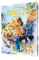 ILUSTROWANA BIBLIA DLA DZIECI z grawerem PREZENT NA CHRZEST KOMUNIĘ