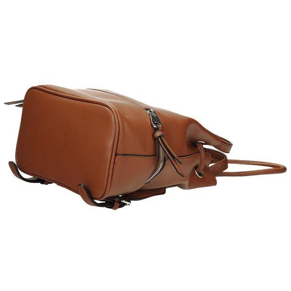 369331a9cd89f Stylowy plecak damski worek brązowy skórzany • Arena.pl