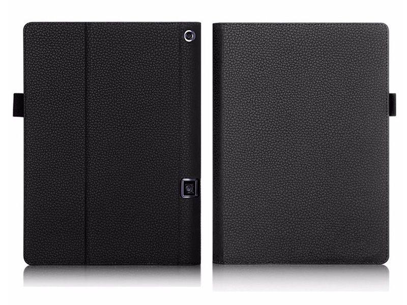 """Etui skórzane Lenovo Yoga Tab 3 Pro 10"""" X90 Czarne + Klawiatura zdjęcie 2"""