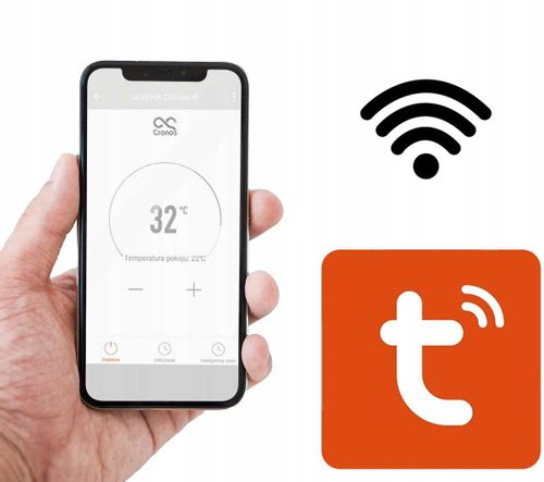 GRZEJNIK CRONOS PANEL NA PODCZERWIEŃ PROMIENNIK 720W WiFi PILOT na Arena.pl