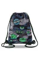 Worek uniwersalny Coolpack Sprint, Badges Grey B73150
