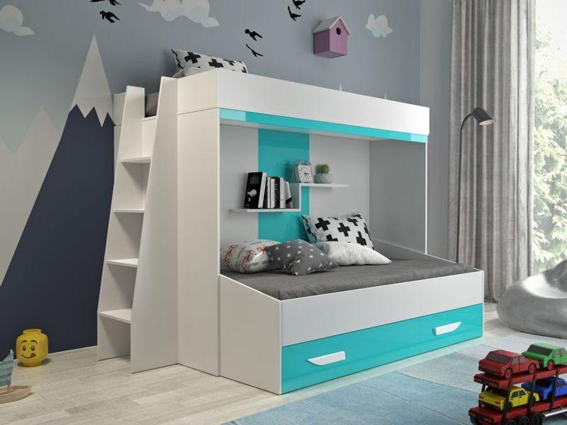 Łóżko piętrowe antresola LUX 17 zdjęcie 1