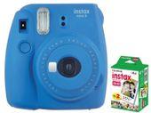 Fujifilm Instax Mini 9 Niebieski Aparat Polaroid + Wkłady 20 szt.