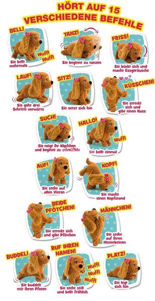 Interaktywny Piesek Lucy reaguje na komendy IMC 7963 zdjęcie 4