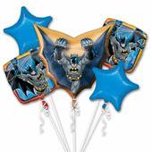 Bukiet balonów foliowych Batman 5 szt