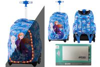 Plecak na kółkach Coolpack ©Disney Jack LED KRAINA LODU - FROZEN + Powerbank
