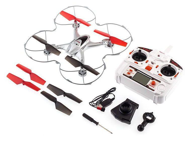 Dron Quadcopter MJX X300C KAMERA PODGLĄD WIFI LED zdjęcie 1