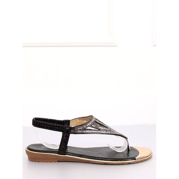 Sandałki japonki czarne M03 Black r.38 zdjęcie 1