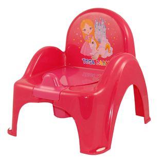 TEGA LP-007-123 Nocnik krzesełko KSIĘŻNICZKA różowy