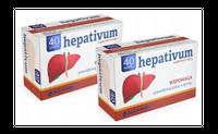 Hepativum cholina regeneracja wątroba detox 80tabl