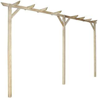 Drewniana pergola ogrodowa 400x40cm