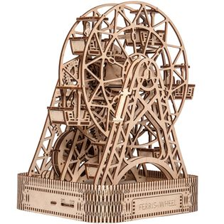 DIABELSKI MŁYN Mechaniczne Puzzle 3D Drewniane Wooden City