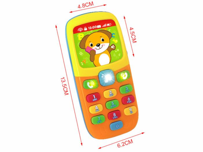Kolorowy TELEFONIK Dla Maluszka Dźwięki Światła zdjęcie 8