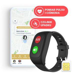 Locon Life — Opaska SOS dla seniora z GPS
