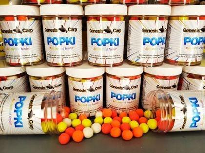 GENESIS CARP Popki Fluo Mini Kukurydza 9mm
