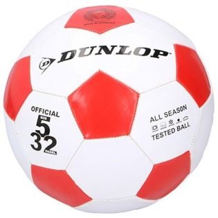 Dunlop - Piłka do nogi 23cm (Czerwona)