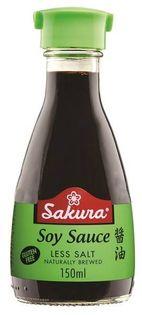 Sos sojowy bezglutenowy Light Sakura 150ml - dyspenser