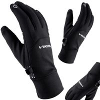 Rękawice narciarskie VIKING HORTEN MULTIFUNCTION czarne 7