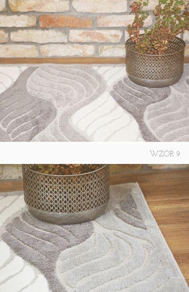 Strukturalny Nowoczesny Dywan Azam 160x230 Dużo Wzorów Do Wyboru