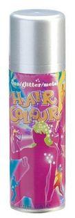 Spray lakier koloryzujący do włosów srebrny sibel
