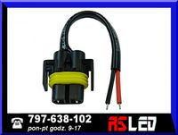 Wtyczka wtyk gniazdo żarówka H11 H8 LED oprawa RS jakość
