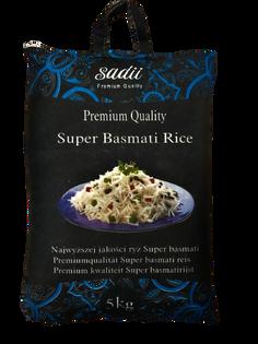 Ryż basmati 5kg Sadii Super