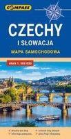 Mapa samochodowa. Czechy i Słowacja praca zbiorowa