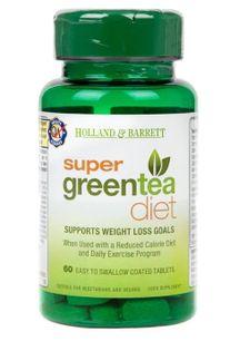 Super Green Tea Diet Zielona herbata - 60 tablets Holland & Barrett
