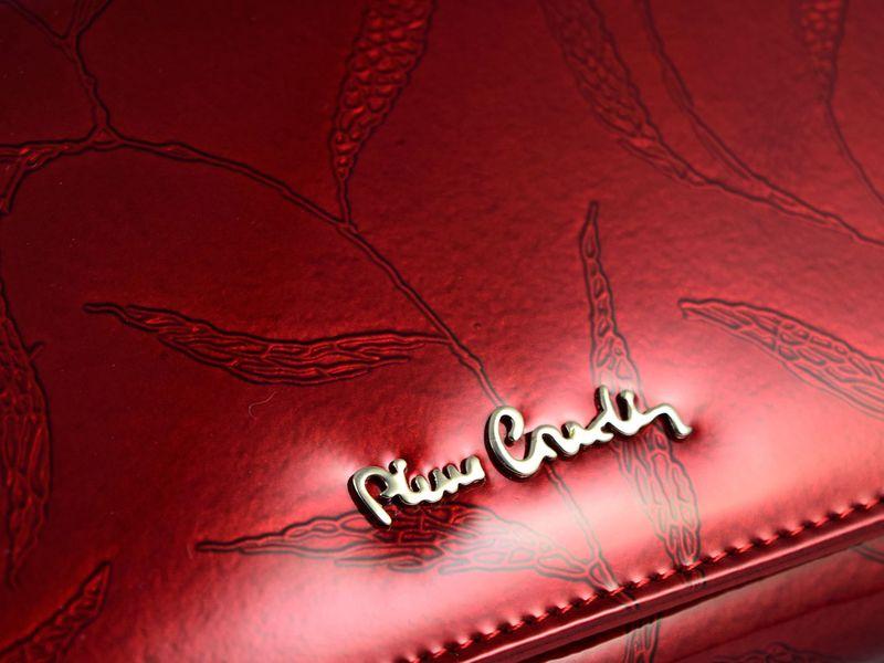 Portfel damski Pierre Cardin skórzany zamek listki zdjęcie 4