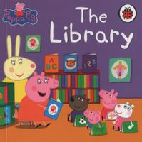 Peppa Pig - Mini Book - The Library
