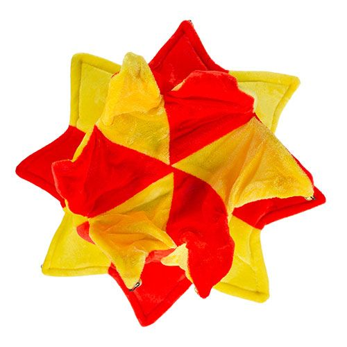 Kapelusz błazna w barwach Hiszpanii z 14 dzwonkami zdjęcie 4