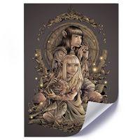 Plakat, Elfia para 50x70
