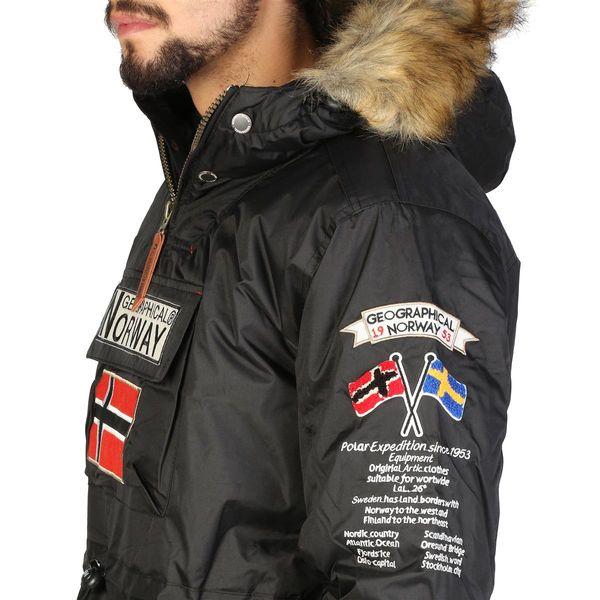 db5b2302 Geographical Norway zimowa kurtka męska parka czarny XXL