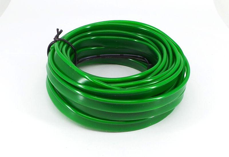 Światłowód EL WIRE Ambient Taśma LED 5m zielony zdjęcie 8