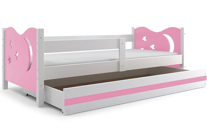 Łóżko łóżka Mikołaj dziecięce 160x80 parterowe + SZUFLADA zdjęcie 22