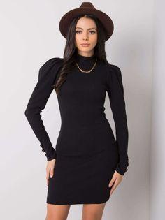 Sukienka Czarna Madlene-S