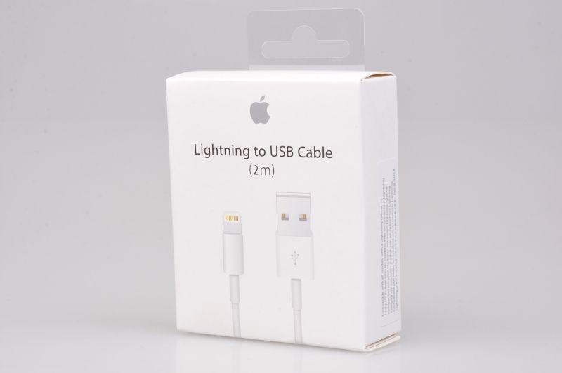 ORYGINALNY KABEL Apple iPhone 5 5S 5C 6 6S 7 8 Plus X SE iPad 2 metry zdjęcie 1