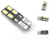 ŻARÓWKA LED T10, W5W, W10W, W16W, W3W, R10 12V 2W CANBUS 160lm boczna