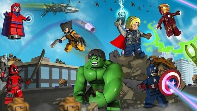 Lego Marvel Super Heroes PL XBOX 360 Nowa zdjęcie 3