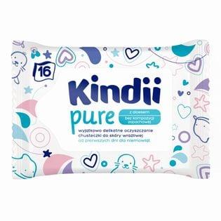 Chusteczki nawilżane Cleanic KINDII Pure 16szt.