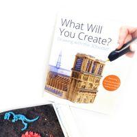 3Doodler Book, 3DR2BK, książka projektów, język angielski