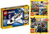 LEGO CREATOR 31066 PROMU KOSMICZNEGO + 2 KATALOGI LEGO