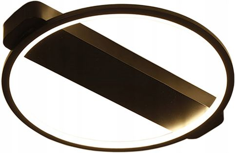 Lampa LEO II sufit ring PLAFON okrąg żyrandol 52cm LED 28W Wobako