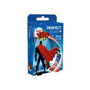 Perfect Plast Plaster Zestaw Kids Hero 20Szt