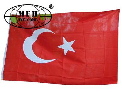 FLAGA TURCJA 150 x 90 cm