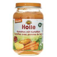 Holle Marchewka z ziemniakami Bio po 4 miesiącu - 190 g
