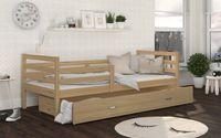 Łóżko JACEK P 198x86 szuflada + materac