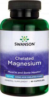 Albion chelat magnezu Chelated Magnesium 133mg 90 kapsułek SWANSON