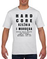 Koszulka męska NA SILOWNIE RZEZNIA I MORDEGA XXL